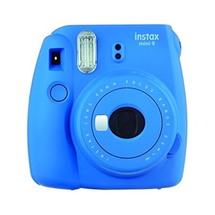 Fuji Instax Mini 9 + Kit (Cobalt Blue)