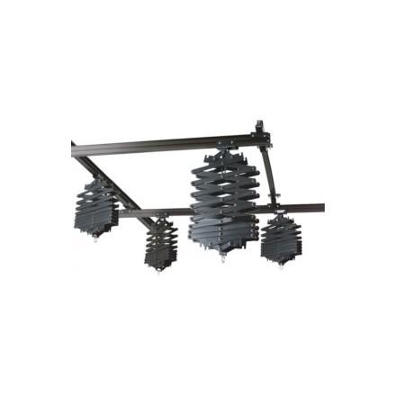Nanguang Sistema de Railes de techo 3x3m con 4 Pantografos