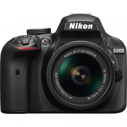 Nikon D-3400 + AF-P DX 18/55 VR