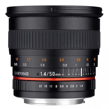 Samyang 50mm F-1.4 (Nikon)